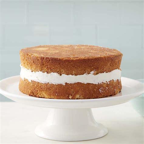 cake wilton basic yellow simple recipe homemade scratch master wlrecip