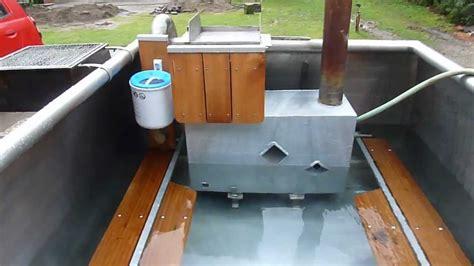 badezuber ofen bauanleitung badetonne ofen selber bauen