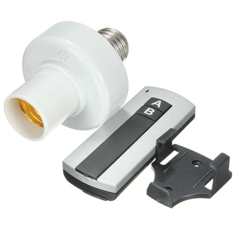 buy wireless remote e27 l bulb holder cap