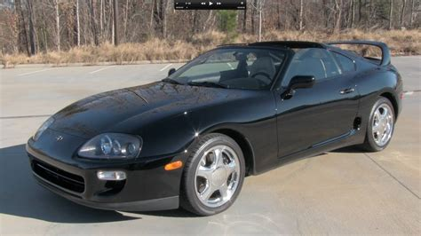 1998 Toyota Supra Turbo by 1998 Toyota Supra Turbo 6 Spd Start Up Exhaust And In