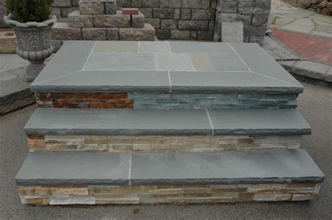 landscape design bluestone slab stoop google search