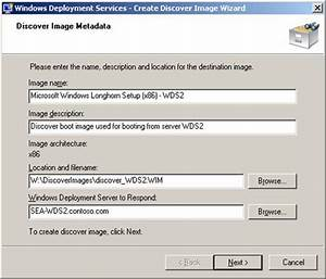 Deploying Vista – Part 20: Working With Discover Images ...