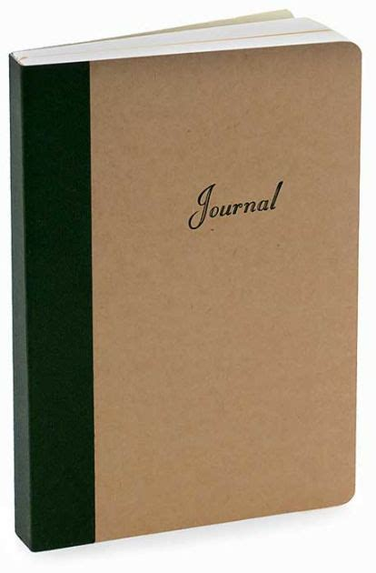 barnes and noble journals kraft refill journal 5x7 9780765534798 item barnes