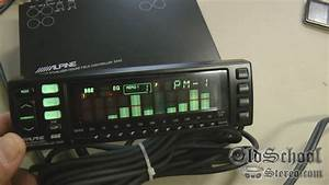 Old School Alpine 3342 Graphic Eq Equalizer Sound Field