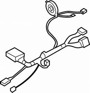 Buick Rainier Steering Column Wiring Harness  W