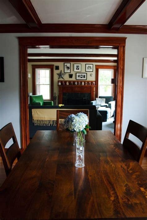 decorating with wood trim parents house dark wood trim