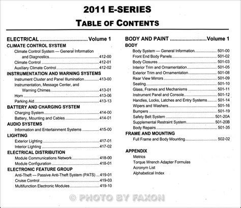 auto repair manual online 2002 ford econoline e350 seat position control 2011 ford econoline repair shop manual original set e150 e250 e350 e450