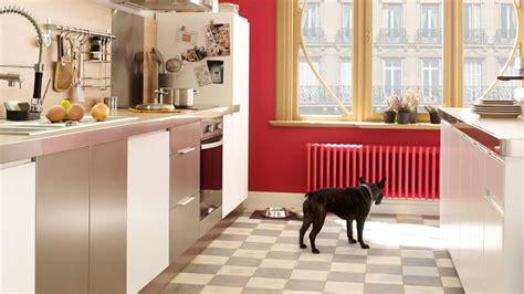 carrelage rouge cuisine carrelage en aluminium mosaique
