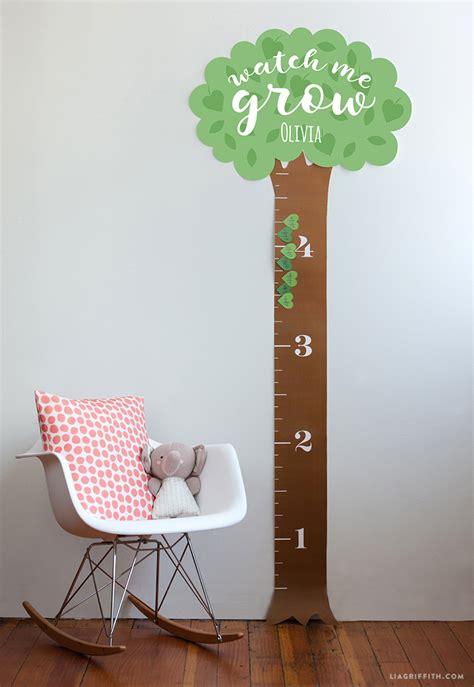 printable height chart  kids pinlaviecom