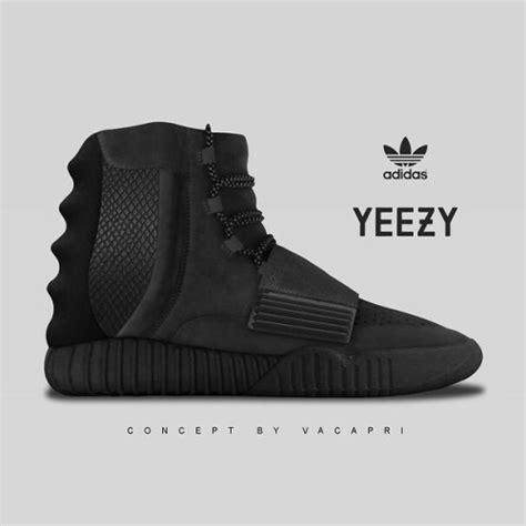 adidas mens black kanye west yeezy3 750 boost adidas yeezy 3