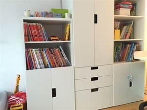 Kinderzimmer Aufbewahrung Ideen : das neue kinderzimmer deko ideen kinderb cher ikea und kinderzimmer ~ Markanthonyermac.com Haus und Dekorationen