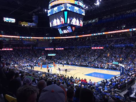 thunder playoff   chesapeake energy arena