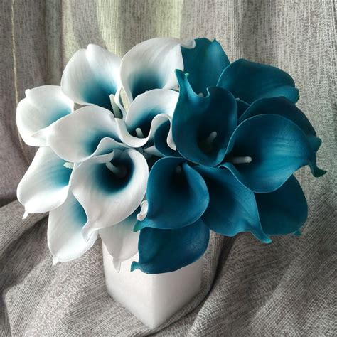 blue flower touch l online buy wholesale blue calla lilies from china blue