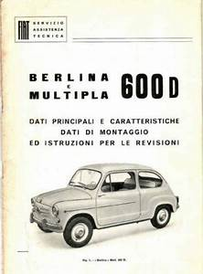 Manuale Officina Fiat Nuova 500 Tipo 110 A Lucca