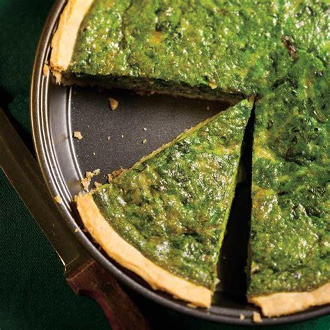 cuisine et vins de recettes tarte salée aux épinards ricardo