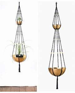 Suspension Plante Interieur : suspension plantes macram 2 tages bymadjo ganesh d co ~ Preciouscoupons.com Idées de Décoration