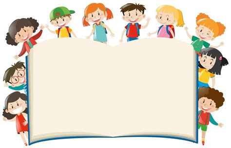 background template  kids  book