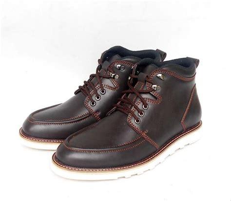 jual sepatu boots boot pria kulit outdoor gunung