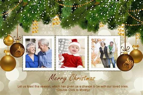 photo templates merry christmas