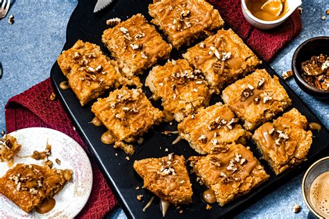 Karamel boterkoek - Chickslovefood