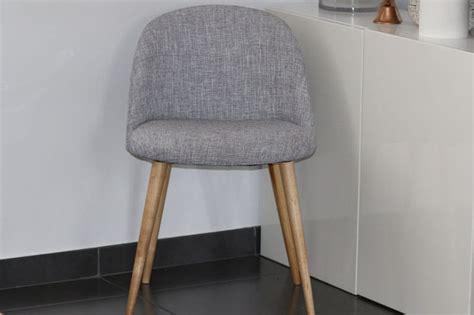 chaise boston maison du monde la chaise mauricette grise de maison du monde le test