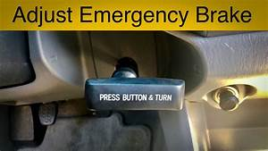 How To Adjust The Emergency Parking Brake On A Toyota