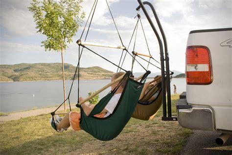 hammock for car trailer hitch hammock chair by hammaka hiconsumption