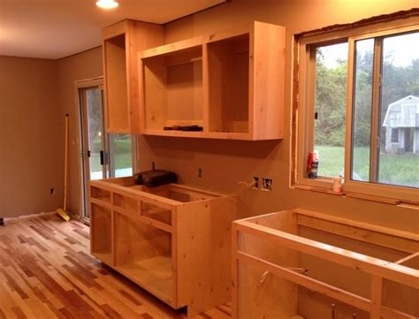 how to build kitchen cabinets step by step build your own kitchen cabinets with plans by ana so here