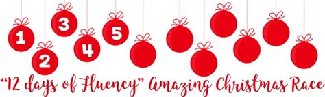 on the fifth day of christmas fluency matters gave to me