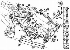 Original Parts For E87 118i N46 5 Doors    Rear Axle   Rear Axle Support Wheel Suspension
