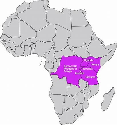 Lakes Africa Drc Region Six Leadership Peace