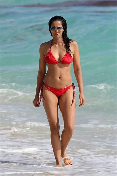 Bikini Padma Beach Lakshmi Wearing Miami Naked