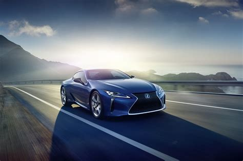 lexus head turning lc coupe   hybrid   geneva show