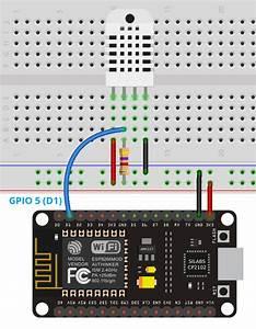 Esp8266 Dht11  Dht22 Web Server Arduino Ide