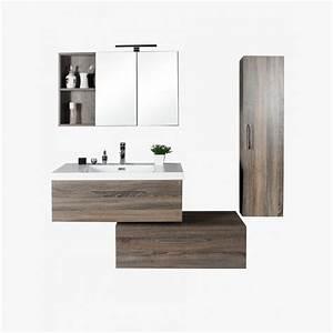 aquasun ensemble de salle de bain 90 cm With ensemble meuble salle de bain 90 cm