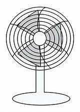 Fan Coloring Pages Electric Ceiling Getdrawings Getcolorings Printable Electrical Symbol Plan sketch template