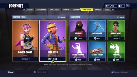 fortnite item shop today power chord returns daily item shop today fortnite