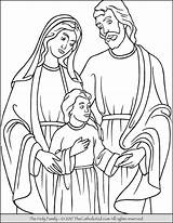 Holy Coloring Pages Joseph Catholic Christ Jesus Mary Feast Printables King Proud Printable Drawing Children Crowning Saint Thecatholickid Kid Easter sketch template