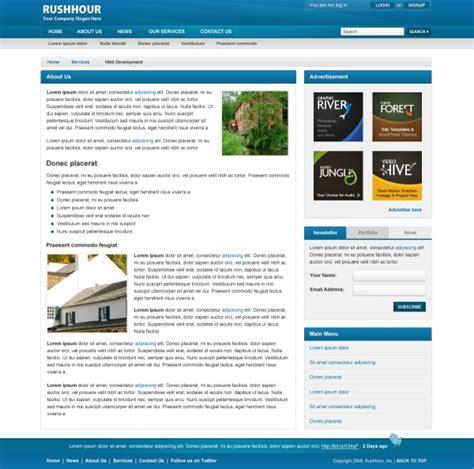 simple web design 6 simple website design templates images simple html website templates simple web page design