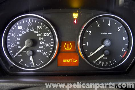 Bmw E90 Tire Pressure Warning Light Reset