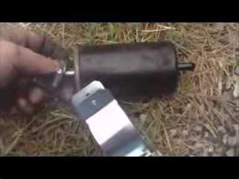 change  fuel filter dodge dakota youtube