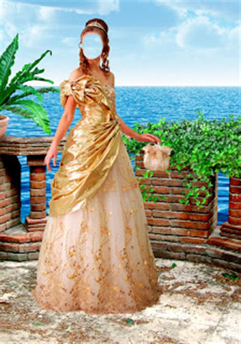 Neco Template by Central Photoshop Vestido De Mulher De Sal 227 O Modelo Ouro
