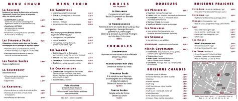 Traduction Carte Restaurant Italien by Le Stube Snacking 224 L Allemande Foodandconcept