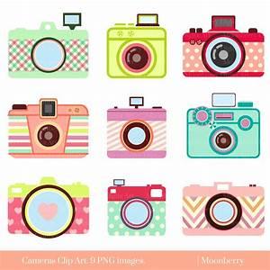 Camera clipart cute camera - Pencil and in color camera ...