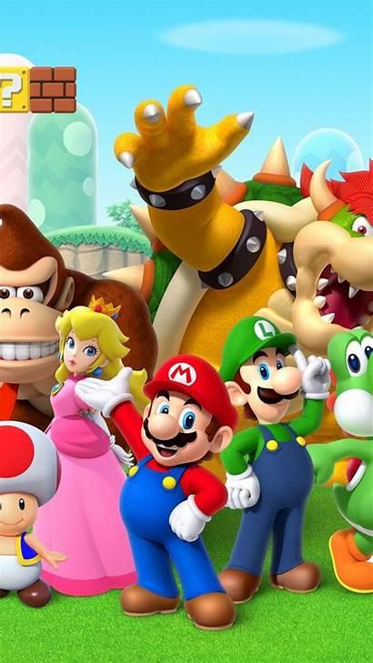 Mario Super Bros Background Games Galaxy Mini
