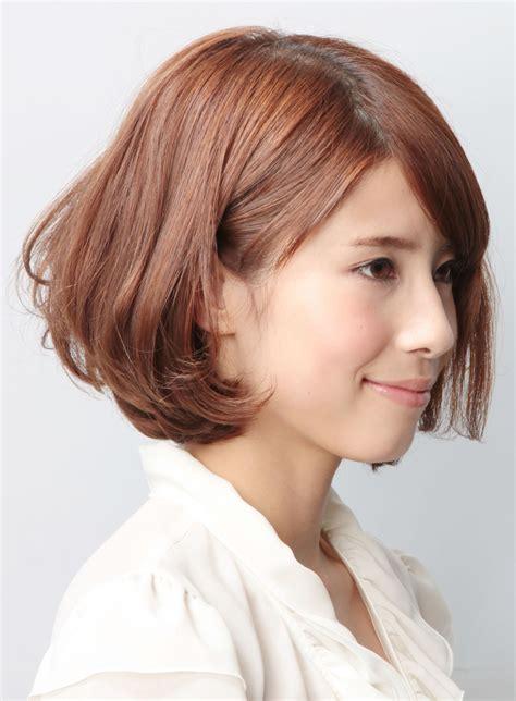 bob haircut   face hairstyles japanese