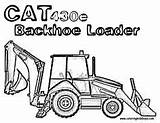 Truck Construction Coloring Pages Trucks Backhoe Clip Peterbilt Loader Cliparts Hoe Colouring Heavy Template Printable Drawings Machinery Tee Trash Caterpillar sketch template