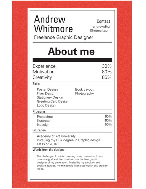 Resume Portfolio Exles by Nutrition Facts Designer Nutrition Ftempo