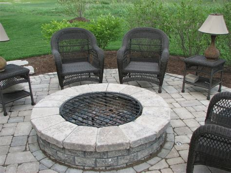 Built In Grill Bar Firetable Fire Pit And Other Kits