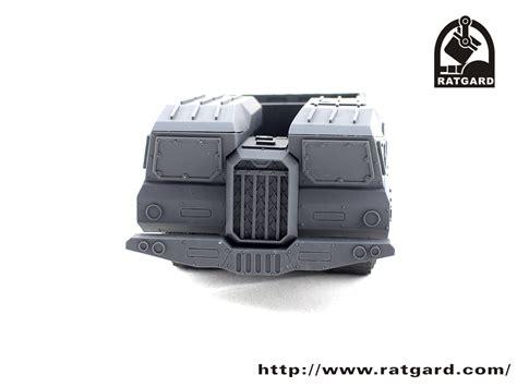 cr馥r bureau preview of cargo r a t heavy carrier ratgard miniatures design bureau